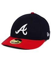 uk availability 52ba8 0a818 New Era Atlanta Braves Low Profile AC Performance 59FIFTY Cap