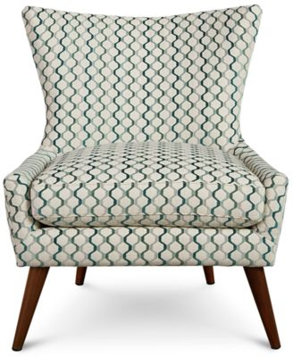 Arielle Printed Accent Chair, Created For Macyu0027s