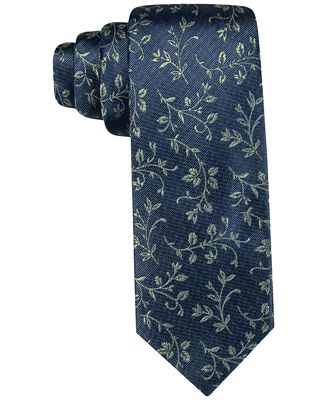 Ryan Seacrest Distinction™ Men's Brookhurst Vine Slim Tie, Only at Macy's