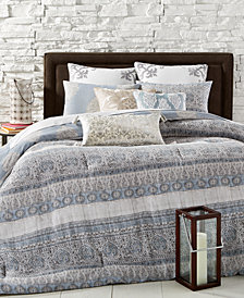 CLOSEOUT! La Reine Reversible 8-Pc. Comforter Sets