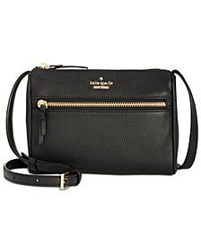 kate spade new york Jackson Street Mini Cayli Pebble Leather Crossbody