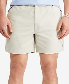 Polo Ralph Lauren Men's Big & Tall Classic-Fit Drawstring Prepster Shorts