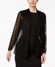 MSK Sheer Sparkle Jacket