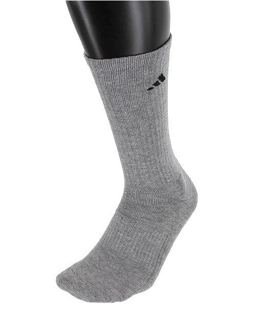 993d9b545 adidas Men's 6 Pack ClimaLite Crew Socks & Reviews - Socks - Men ...