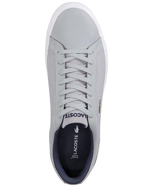 c52e702e5 Lacoste Men s Lerond 117 3 CAM Sneakers   Reviews - All Men s Shoes ...