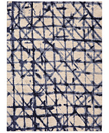 Karastan Enigma Contact Indigo Area Rugs