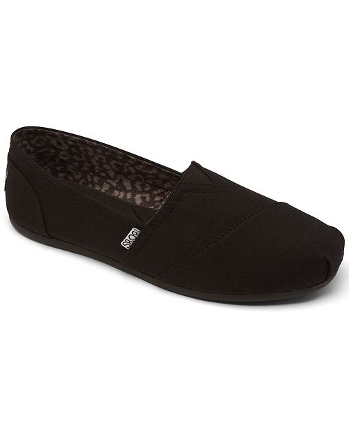 SKECHERS Women's BOBS Plush Slip On Casual Shoes