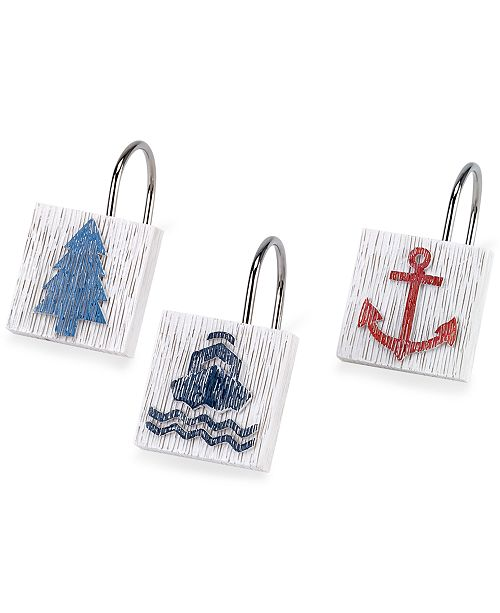 Avanti Lake Words Shower Hooks