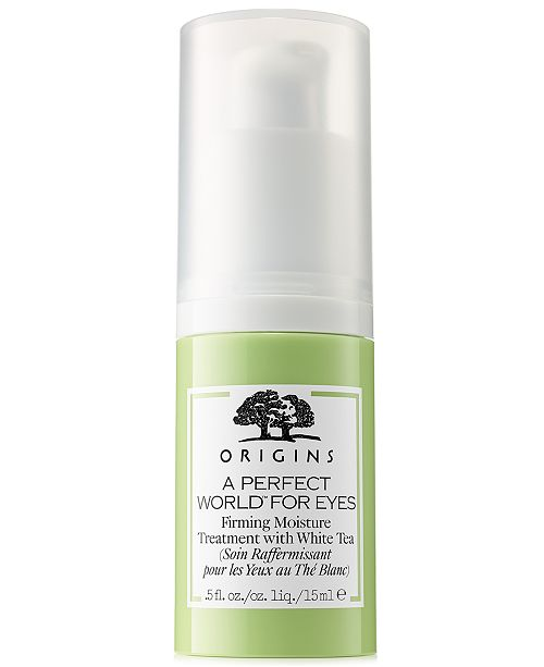 Origins A Perfect World For Eyes Firming Moisture Treatment With White Tea, 0.5 oz