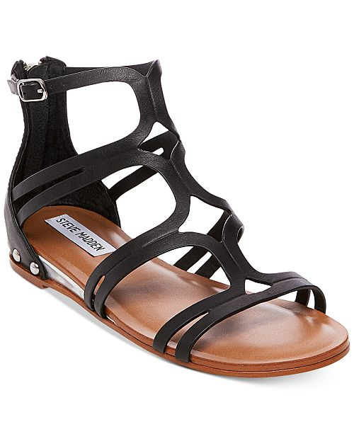 0bd5b0505b87 Steve Madden Women s Delta Gladiator Sandals   Reviews - Sandals ...