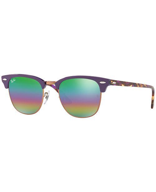 Ray-Ban. CLUBMASTER Sunglasses, RB3016 51. 42 reviews. main image  main  image ... 182fd4c234