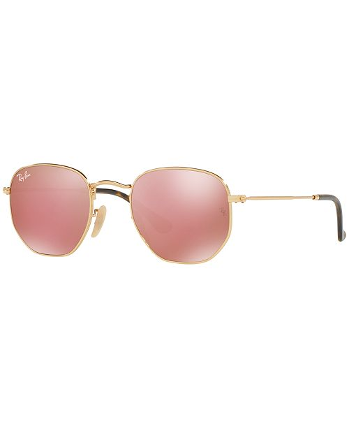 57c874ea01b ... Ray-Ban HEXAGONAL FLAT LENS Sunglasses