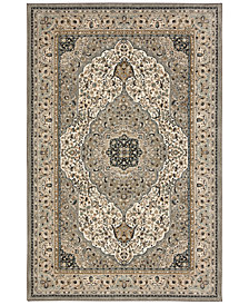 "Karastan Touchstone Avonmore Willow Gray 2'4"" x 7'10"" Runner Rug"