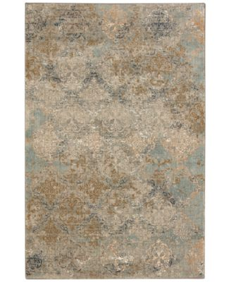 Karastan Touchstone Moy Willow Gray Area Rugs
