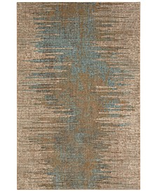 "Touchstone Virginia Langley Arielle Bronze 2'4"" x 7'10"" Runner Rug"