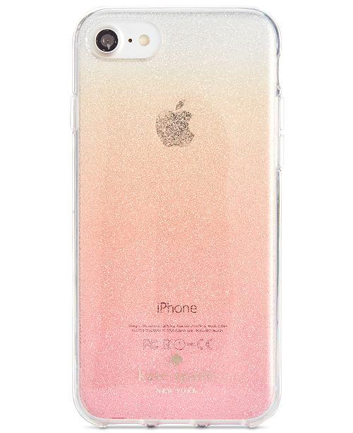 best website 3cbe4 4d2ef kate spade new york Glitter Ombré iPhone 7 Case & Reviews - Handbags ...