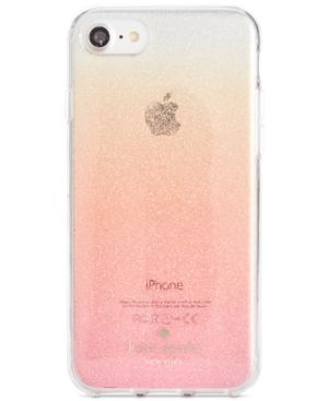 iphone pink gold kate spade glitter ombre iphone 7 8 pink glitter 12135