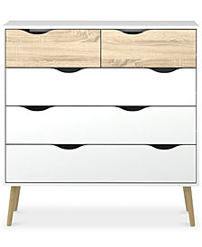 Sorena 5-Drawer Chest, Quick Ship