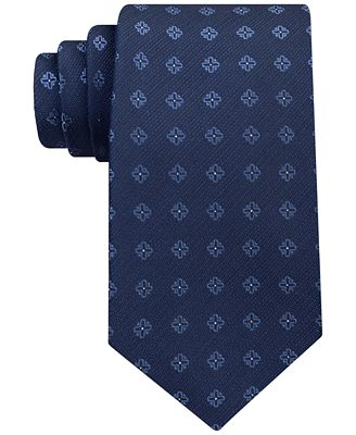 Calvin Klein Men's Cross Medallion Tie
