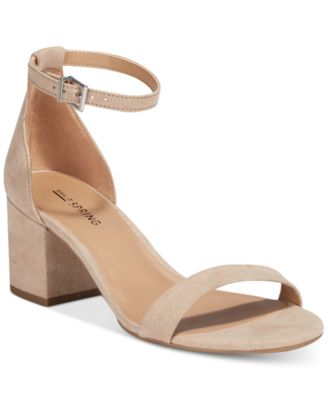 Image of Call It Spring Stangarone Two-Piece Block-Heel Sandals