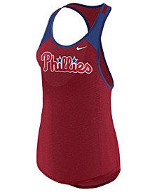 Nike Women's Philadelphia Phillies Legend Wordmark Tank