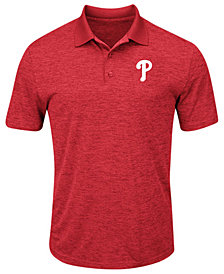 Majestic Men's Philadelphia Phillies First Hit Polo Shirt