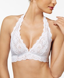 Cosabella Hippie Halter Lace Bra NEVER1307, Online Only