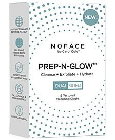 5-Pk. Cleanse, Exfoliate, Hydrate Prep-N-Glow Cloths