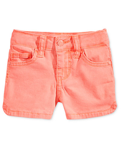 Celebrity Pink Super Soft Colored Denim Shorts, Toddler & Little ...