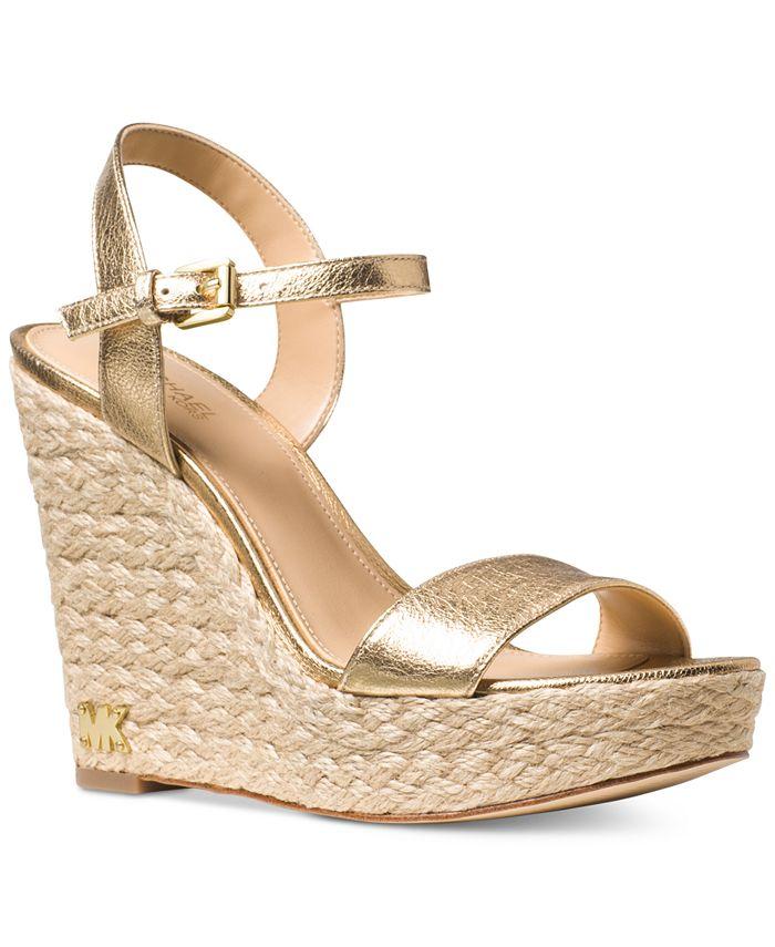 Michael Kors - Jill Espadrille Wedge Sandals