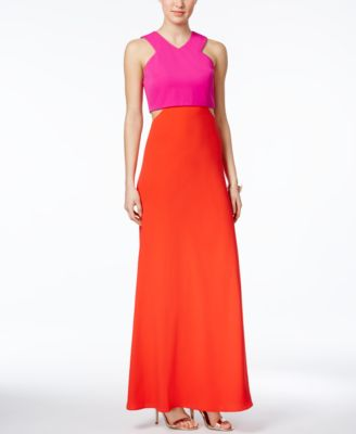 Macy's Red Evening Gowns