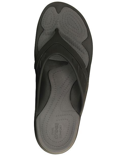 ed5e63e1bc0e4c Crocs Men s Modi Sport Flip-Flops   Reviews - All Men s Shoes - Men ...