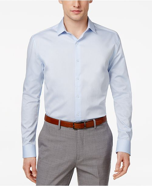 extremely unique high quality guarantee order Men's Slim-Fit Stretch Dress Shirt, Created for Macy's