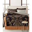 Sabrina Reversible 6-Pc Bedding Ensemble + Tommy Hilfiger Pillow
