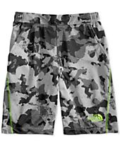The North Face Camo-Print Pull-On Shorts, Big Boys (8-20)