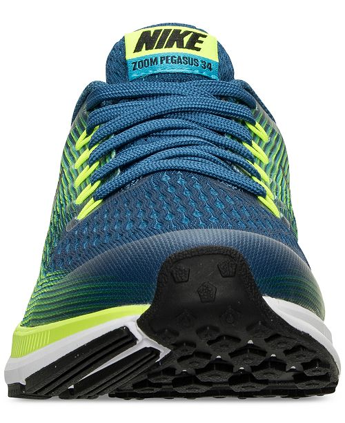 1825df5d Nike Big Boys' Air Zoom Pegasus 34 Running Sneakers from Finish Line ...
