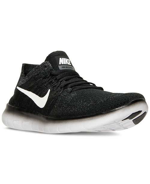 3528d4d3e2c0 ... Nike Big Boys  Free Run Flyknit 2017 Running Sneakers from Finish ...