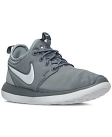 Nike Big Boys'   Roshe Two Casual Sneakers from Finish Line