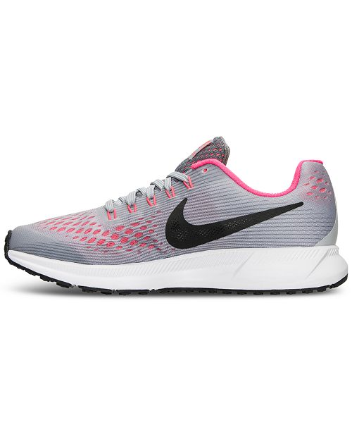 628469f0e4c6 ... Nike Big Girls  Air Zoom Pegasus 34 Running Sneakers from Finish ...