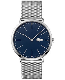 Lacoste Men's Moon Stainless Steel Mesh Bracelet Watch 40mm 2010900