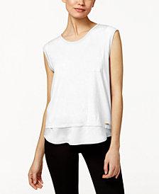 Calvin Klein Layered-Look T-Shirt
