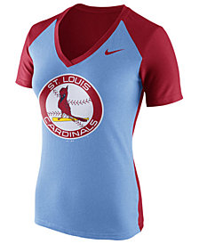 Nike Women's St. Louis Cardinals  Coop Fan T-Shirt
