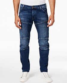 G-Star Men's 5620 Deconstructed 3D Slim-Fit Stretch Jeans, Created for Macy's
