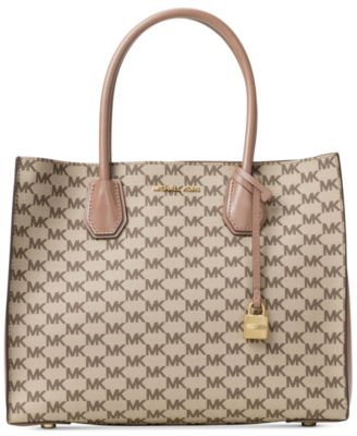 Image of MICHAEL Michael Kors Signature Mercer Large Convertible Tote