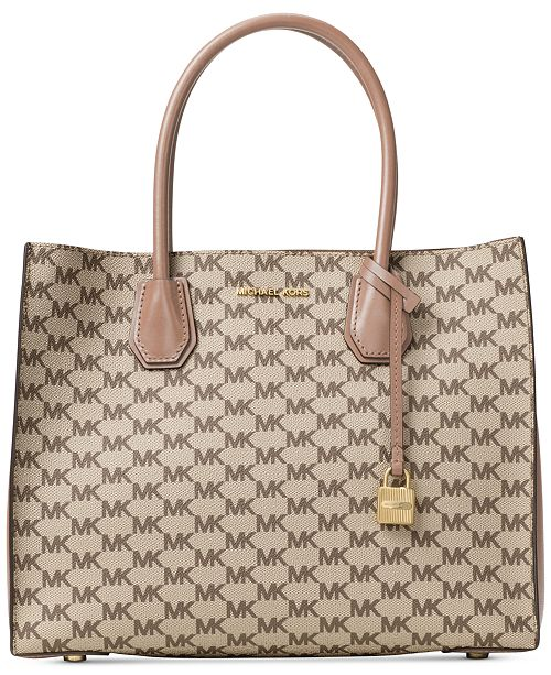 Michael Kors Signature Mercer Large Convertible Tote