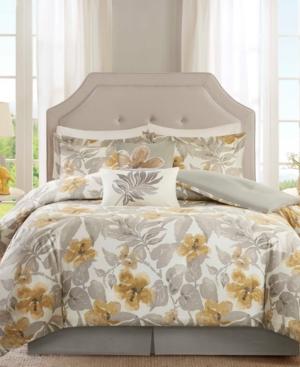 Harbor House Gabrielle 5PC Dobby Jacquard King Duvet Set Bedding