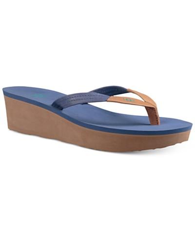 UGG® Ruby Wedge Flip-Flop Sandals