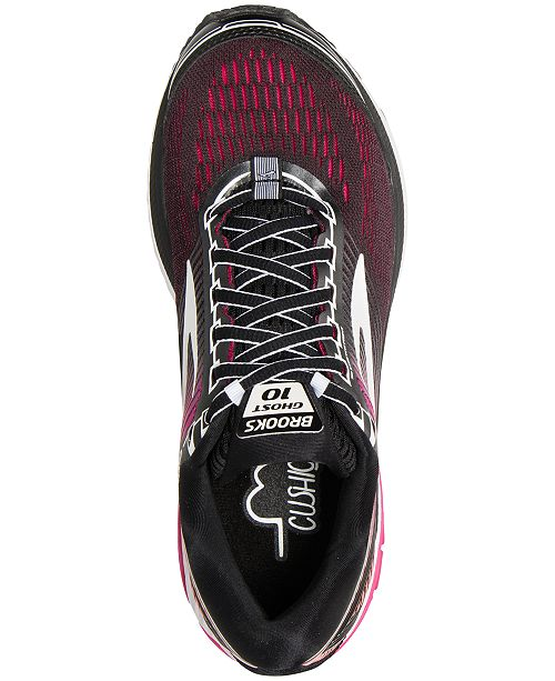 fc3720b93e27 Brooks Women s Ghost 10 Running Sneakers from Finish Line   Reviews ...
