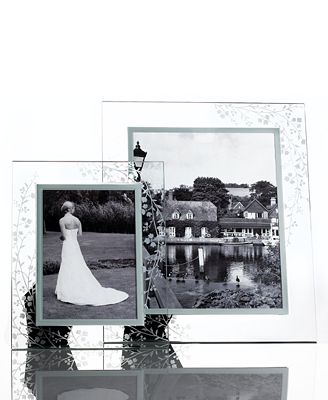 CLOSEOUT! Martha Stewart Collection Picture Frames, Trousseau Glass Collection