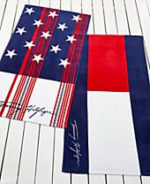 Tommy Hilfiger Home Cotton Beach Towel Collection